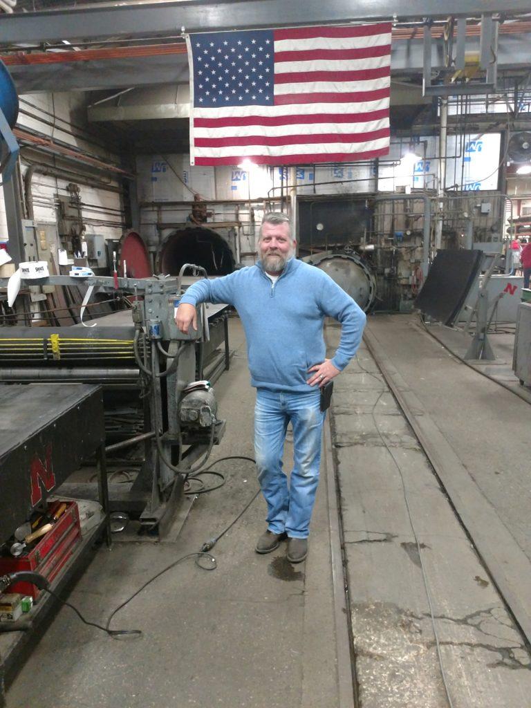Joe Wren General Manager of Sioux Rubber