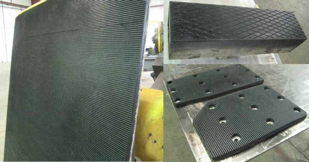 Clamp Pads Sioux Rubber