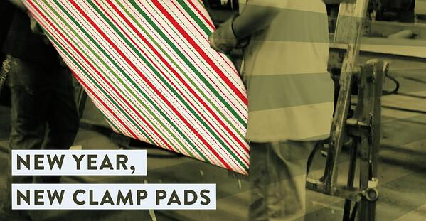 Resolve to Recover Your Clamp Pads